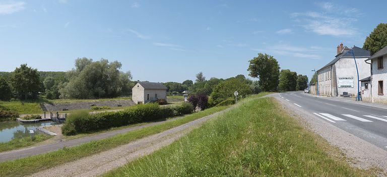 site de l'écluse 35 du versant Loire, dite de Loire (canal du Nivernais)