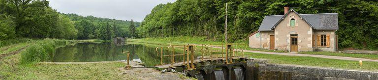 site de l'écluse 07 du versant Seine, dite de Gros Bouillon (canal du Nivernais)
