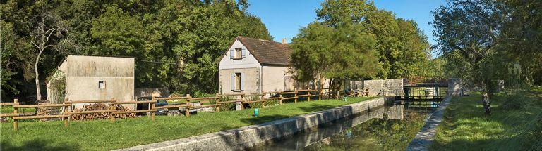 site de l'écluse 44 du versant Seine, dite de Chantenot (canal du Nivernais)