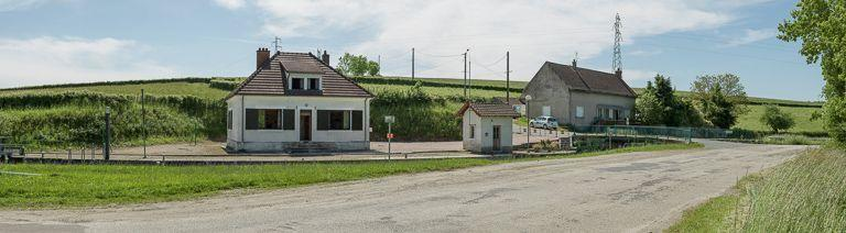 Site de l'écluse 04 du versant Océan ; dite de Parizenot ou de Parisenot (canal du Centre)