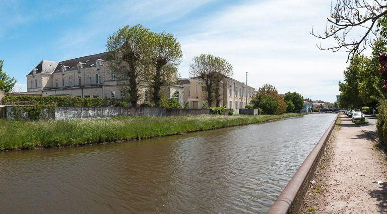 Hôpital de la 9e écluse (paysages du canal du Centre)