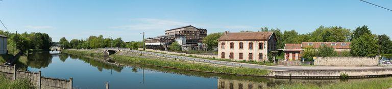 usine de préparation de produit minéral dite Lavoir des Chavannes (activités liées au canal du Centre) ; port des Chavannes (canal du Centre)