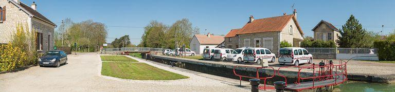 Site de l'écluse 96 du versant Yonne (dite de Tonnerre 2ème) (canal de Bourgogne)