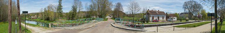 site de l'écluse 98 du versant Yonne, dite de Cheney (canal de Bourgogne)