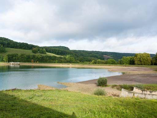 Barrage du contre-réservoir de Grosbois (canal de Bourgogne)