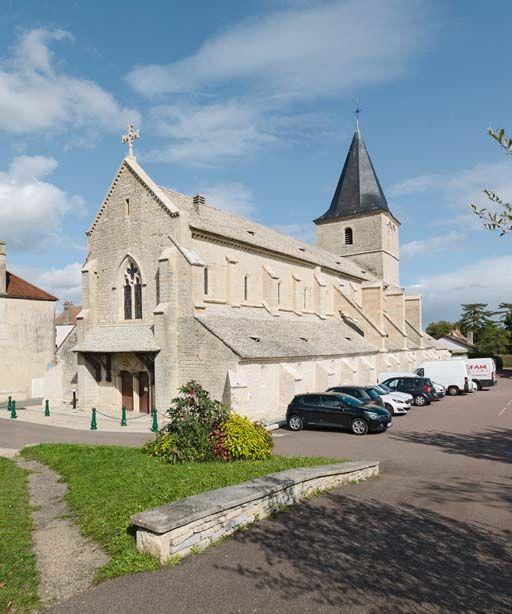 centre-ville de Talant (paysages du canal de Bourgogne)