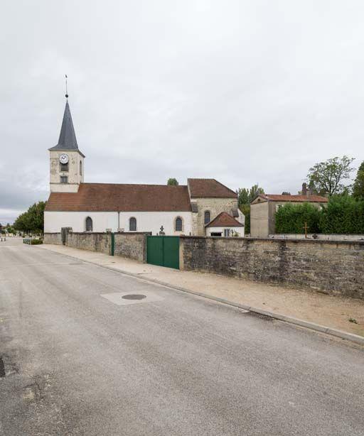 église paroissiale Saint-Didier (paysages du canal de Bourgogne)