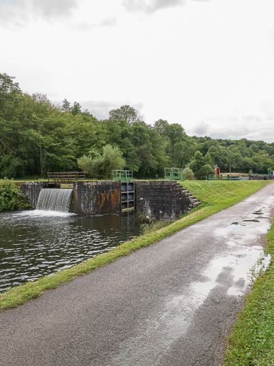 site de l'écluse 03 du versant Seine, dite du Patureau (canal du Nivernais)