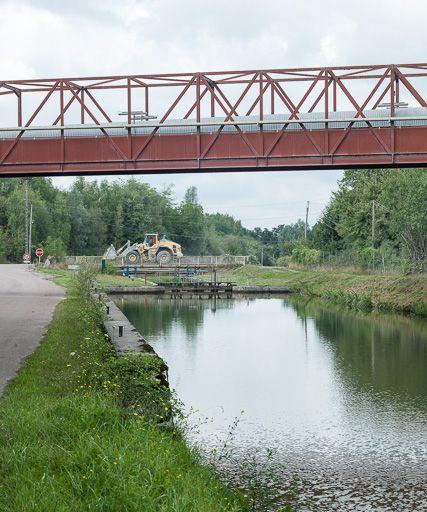 Site de l'écluse 21 du versant Seine, dite de Picampoix (canal du Nivernais)