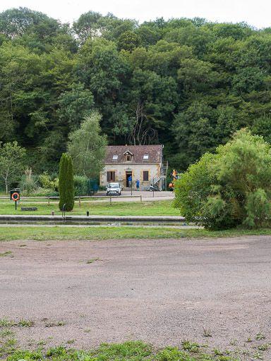 site de l'écluse 24 du versant Seine, dite de l'Yonne (canal du Nivernais)