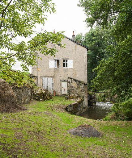 moulin de Marcy (paysages du canal du Nivernais)