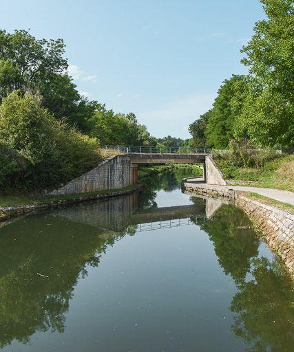 pont ferroviaire (canal du Nivernais)