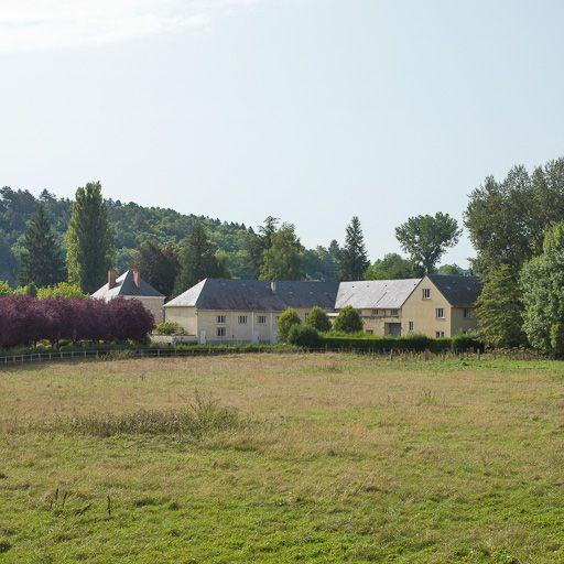 moulin de la Motte, actuellement Chocolaterie Rissoise (activités liées au canal du Nivernais)