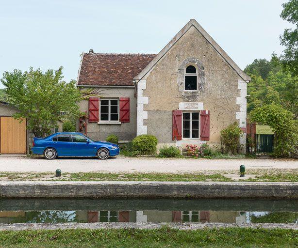 Site de l'écluse 65, dite de Sery (canal du Nivernais)
