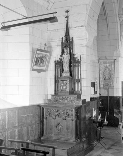 Autels de la Vierge et de saint Fiacre et leurs tabernacles