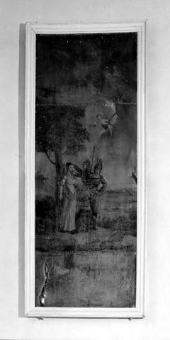 Tableau : Martyre de sainte Apolline