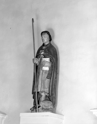 Statue : Saint Wulmer