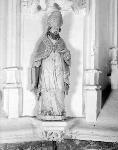 Statue : Saint Eloi (?)