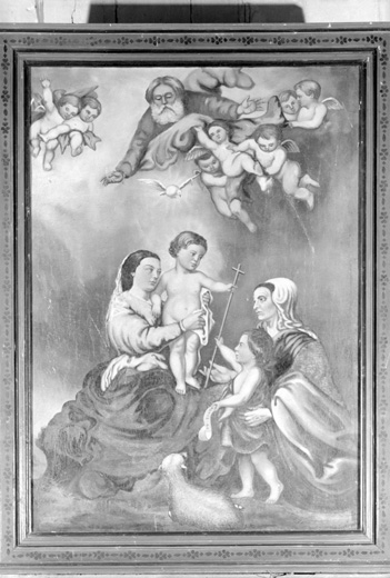 Tableau : La Sainte Parenté