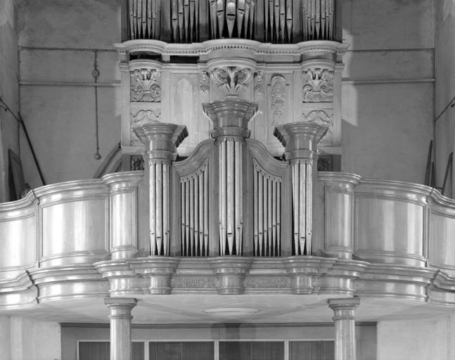 Buffet d'orgue, tribune d'orgue