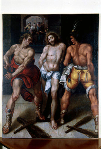 Tableau : Flagellation du Christ