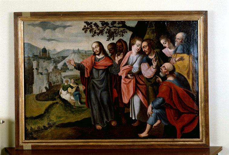 Tableau : Le Christ pleurant sur Jérusalem