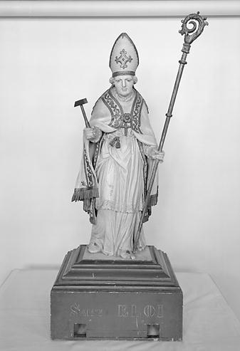 Statue de procession (demi-nature) : saint Eloi