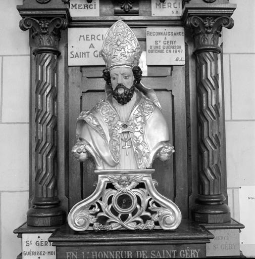 Buste : Saint Géry