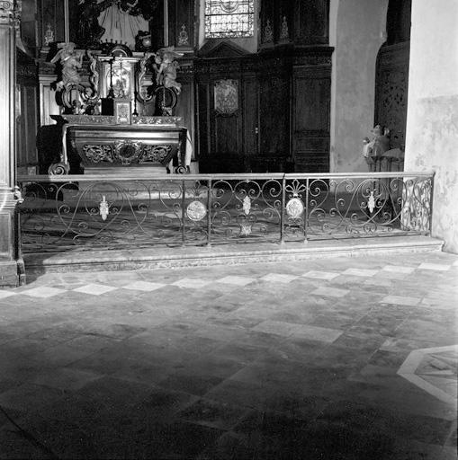 clôture de choeur (table de communion) No 2