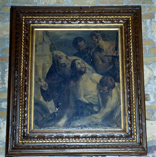 tableau : Le martyre de saint Georges