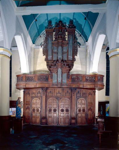 tribune d'orgue, buffet d'orgue