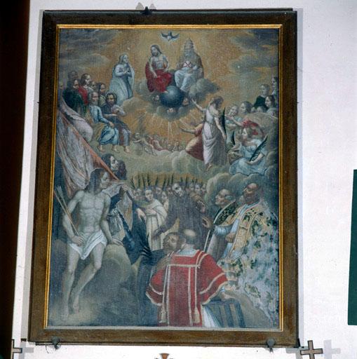tableau : L'apothéose des martyrs