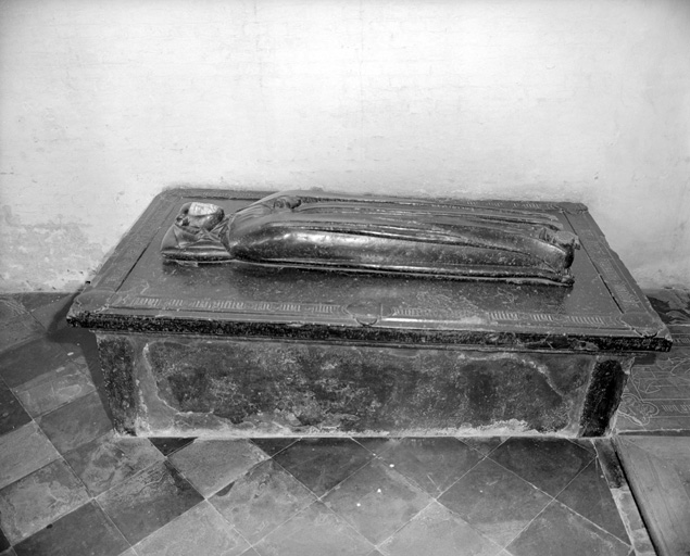 Tombeau (gisant) de Luwine Van Capple