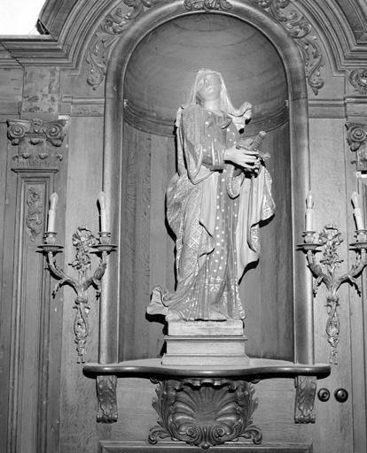 statue (petite nature) : Vierge de Douleur