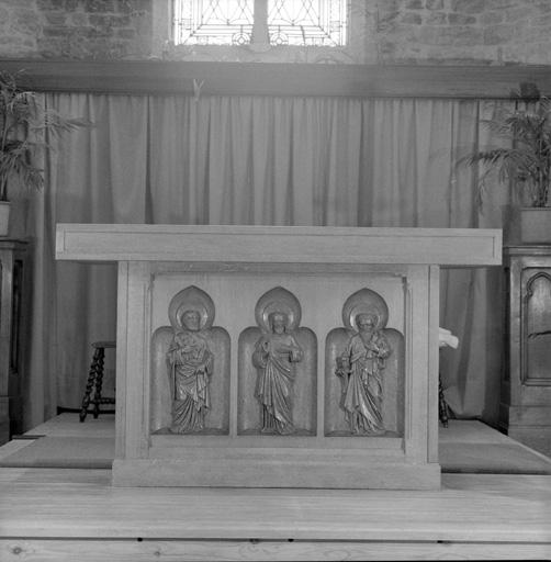 Le mobilier de l'église paroissiale Saint-Wulmer