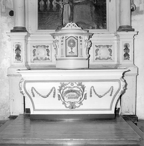 Autel, tabernacle (autel tombeau)