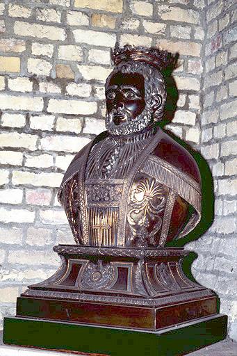 buste-reliquaire : saint Winoc