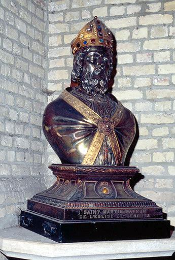 buste-reliquaire : saint Martin