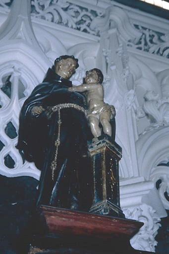 Statuette : saint Antoine de Padoue