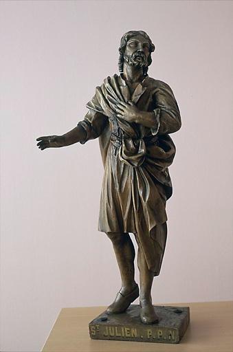 Statue (statuette) : saint Julien l'hospitalier