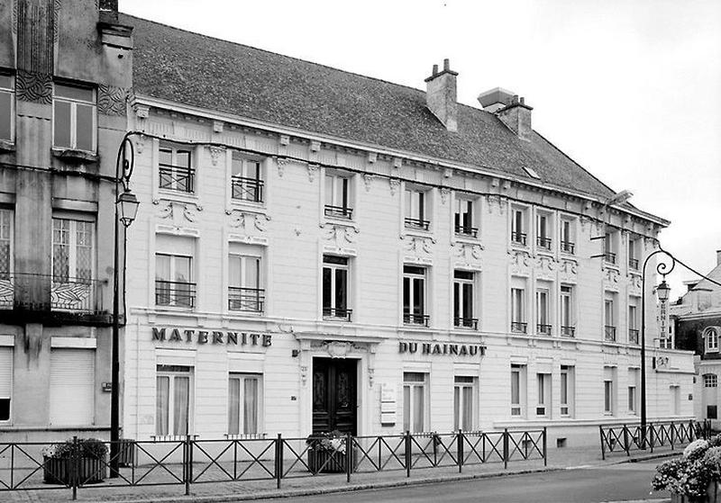 Hôtel, puis Maternité du Hainaut