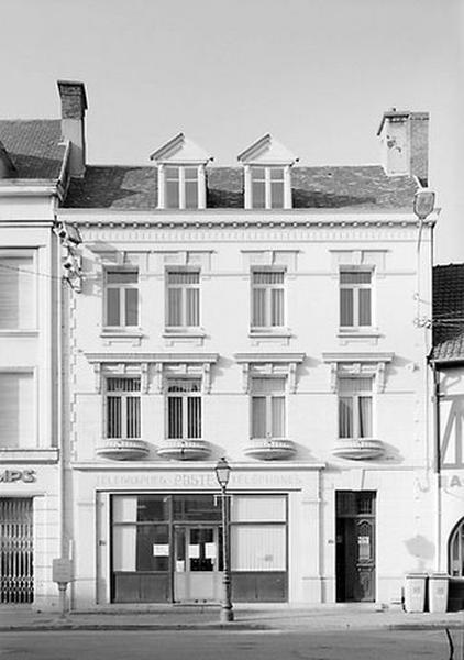 Maison, puis poste, actuellement établissement administratif communal