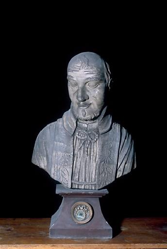 Buste-reliquaire de saint Vincent de Paul
