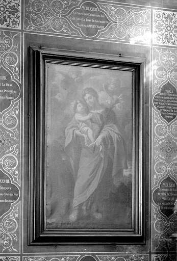 Tableau : saint Joseph avec l'Enfant Jésus