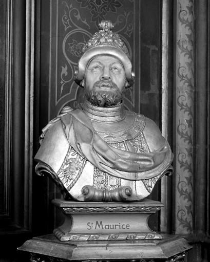 Buste de saint Maurice