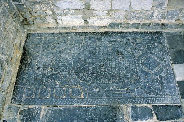 Dalle funéraire de Charles d'Appelteren