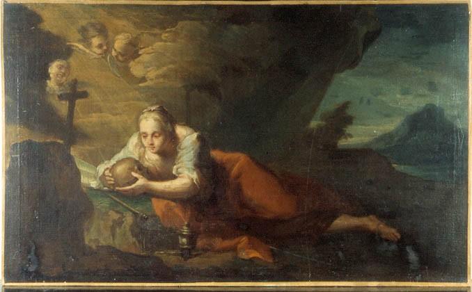 Tableau : sainte Marie Madeleine pénitente