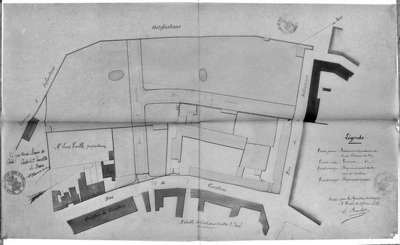 Château de Bailleul (ou hôtel de Bailleul), puis musée communal et bibliothèque communale, maisons ; Lotissement concerté de la rue Faidherbe