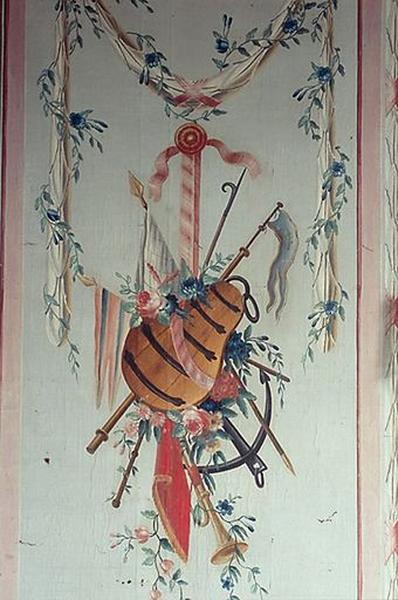 Ensemble des peintures de la salle des bateliers