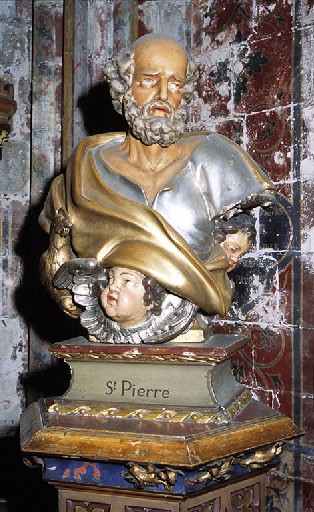 Buste de saint Pierre
